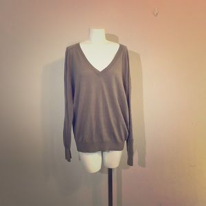 Alexander Wang V-Neck Long Sleeve Sweater